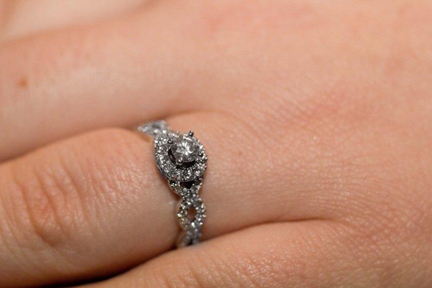 The ring back where it belongs!