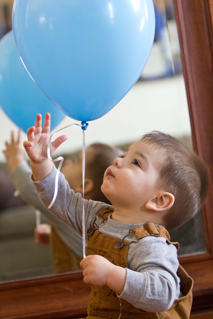 Balloons are the perfect birthday accessory